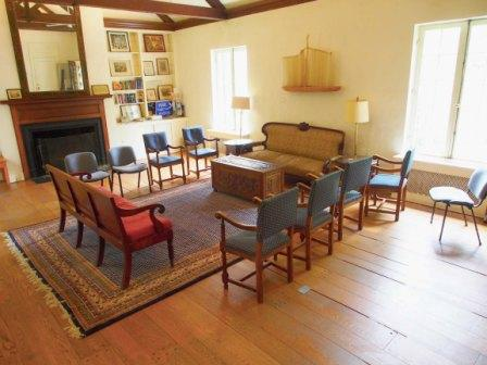 Quaker House Living Room